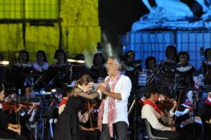 Andrea Bocelli i Teatro del Silenzio