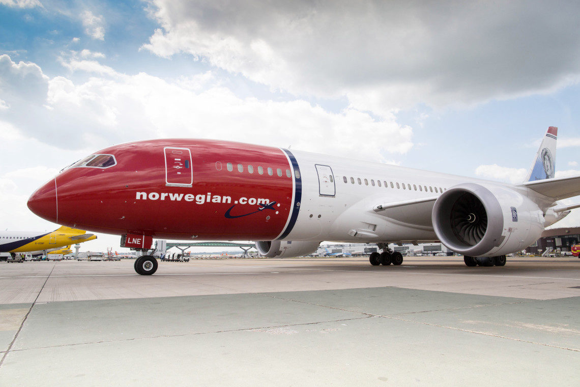 Norwegian Dreamliner FOTO: Steve Bates Lisens : http://creativecommons.org/licenses/by/3.0/
