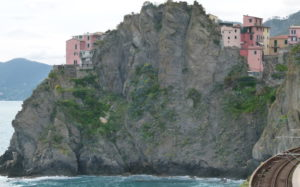 En av de 5 byene på Ligurias berømte Cinque Terre
