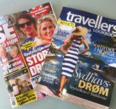 Travellers Lookbook kom til vårt hus som bilag til Se og Hør.