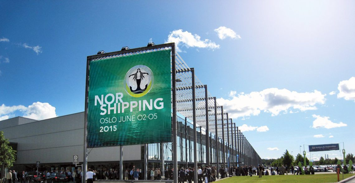 Nor Shipping på Norges Varemesse FOTO: Nor Shipping