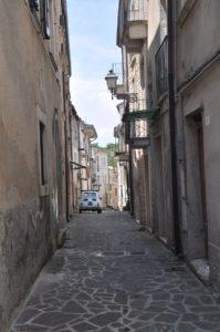 By i Abruzzo - uten turister FOTO: Per Kristian Johnsen