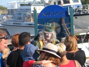 Kong Neptun er populær blant store og små   Foto: Harald Bråthen