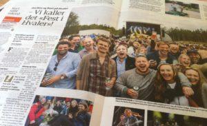 På Hvaler er det ikke festival....