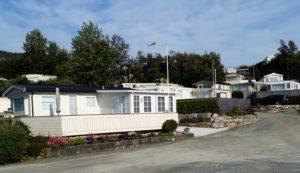 Hervik Camping ligger vakkert til i Tysvær.