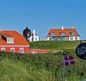 Foto: Oddbjørn Monsen,  Sommerhus ved Lønstrup