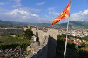 Kong Samuels fort i Ohrid er et mektig skue