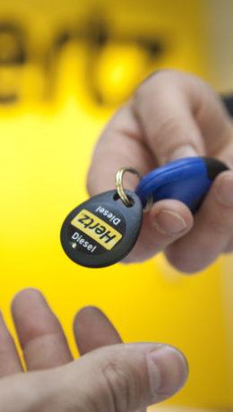 Hertz - logo - nøkkel