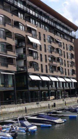 På Aker Brygge er det attraktive leiligheter som mange Airbnb-kunder sikkert ønsker å leie en uke eller to