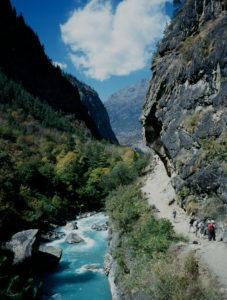 Foto: Reis Nepal aksjonen - Nepal Karnali trail toward Yangar