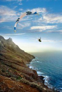 Parapente en Anaga, Tenerife HIGH RES