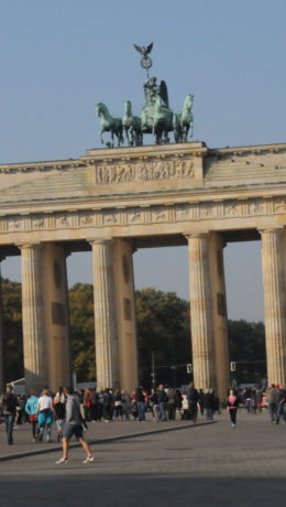 Branderburger Tor – Berlins største turistmagnet.