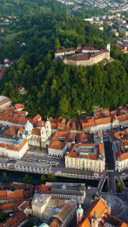 En liten og grønn by Foto: Visit Slovenia