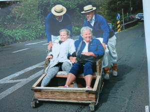 Spennende aktiviteter som her på Madeira er i vinden.
