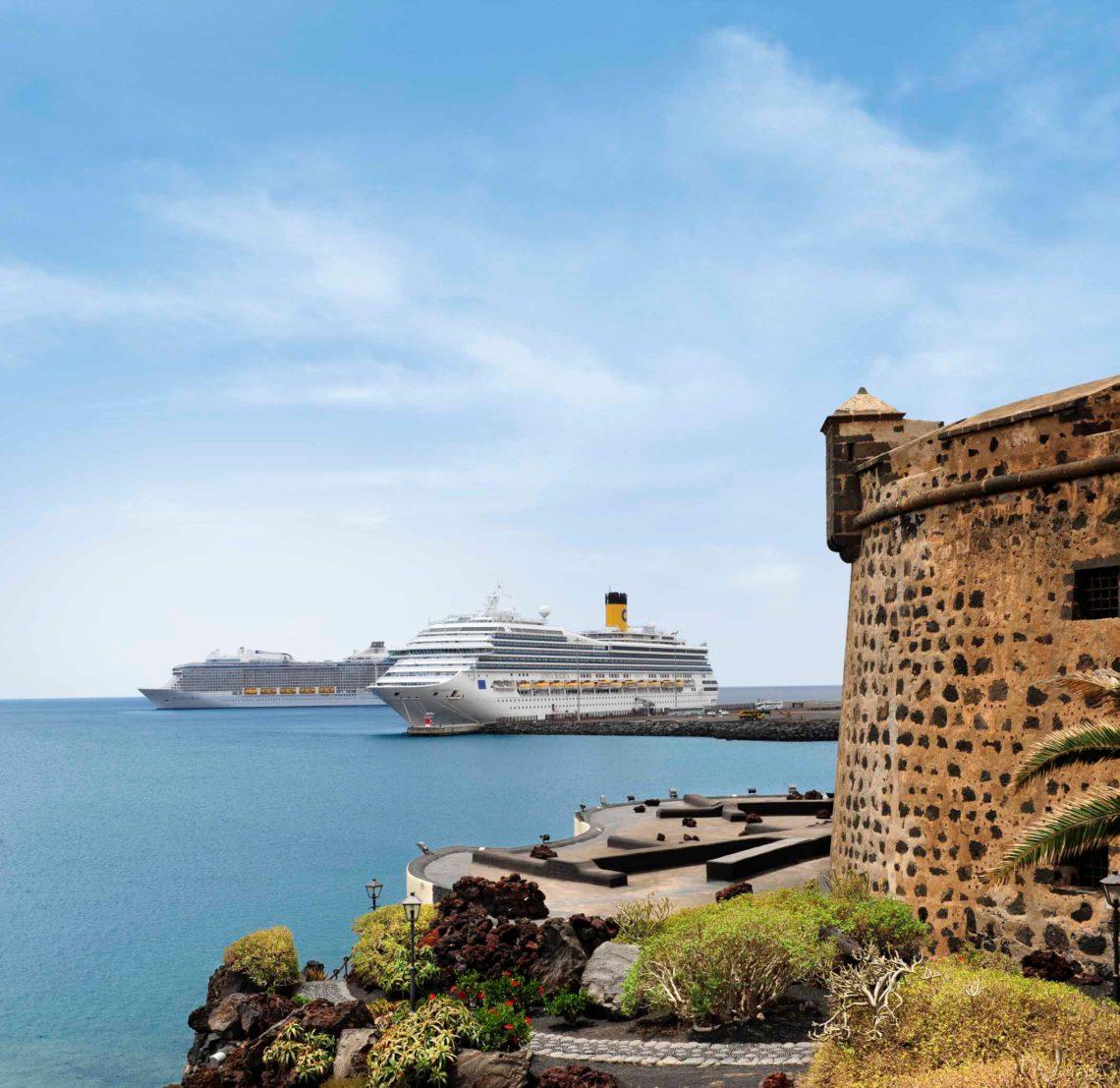 Cruise på Kanariøyene.