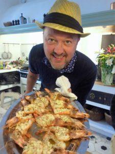 VINNER:Trond Moi lager som alltid god mat,også på Tjuvholmen.(Foto:Gullen Øyehaug)