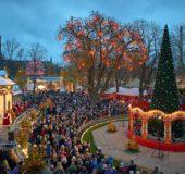Julemarked i Tivoli.