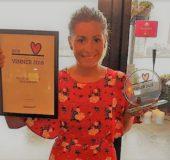 Cargo: Martina Hacker med diplom for beste italienske restaurant