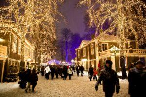 JULESTEMNING:Liseberg er et eventyr i desember.