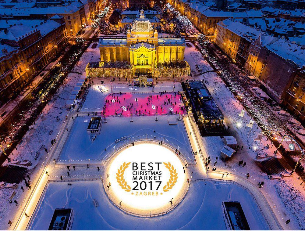 Kroatias hovedstad er et flott sted å besøke i juletider, her ligger nemlig Europas beste julemarked.