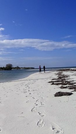 Båttur i utriggerkano til sandstrand i det Indiske hav