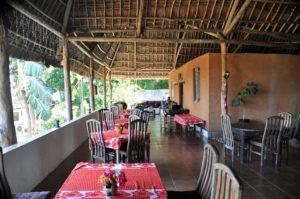 Restauranten på Bomani Beach