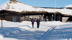 UT PÅ TUR:Vinteren er vakker i Finnskogen.