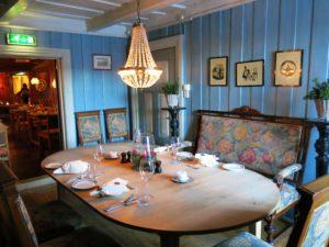 SPISESTUA: koseligere sted å nyte et godt måltid skal du lete lenge etter.