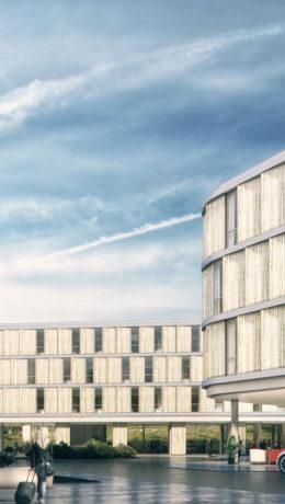 Nytt storhotell åpnet på Flesland 28. febuar.