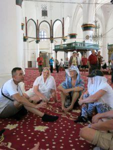 GUDSHUS:Den tidligere katedralen i Nicosia er gjort om til moske.