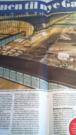 VG ga en femmer på terningen for utvidede Gardermoen, som ikke står noe tilbake for andre internasjonale flyplasser.