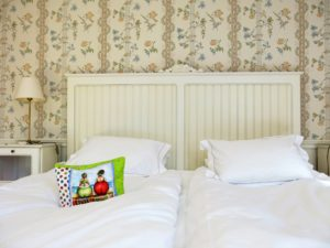 DRØMMELAND:På Trosa Stadshotell sover du som en konge.