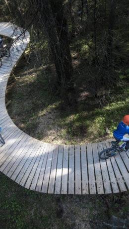Spennende, unikt og morsomt på sykkel i Trysil,