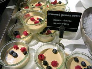 MATEN: På Fretheim hotell serverer de denne fantastiske desserten. Nydelig mat.