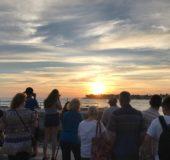 Solnedgangen i Key West skuffer ikke.