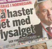 Utfordringer i kø for Norwegian og Bjørn Kjos – her fra forsiden av Finansavisen i forrige uke.